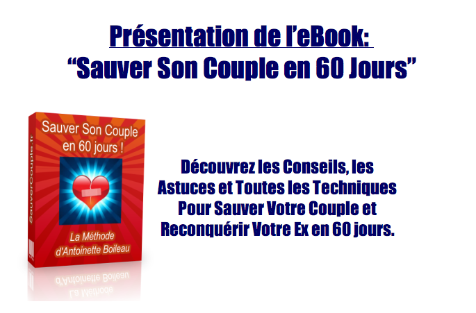 livres pdf pour savoir comment r cup rer son ex. Black Bedroom Furniture Sets. Home Design Ideas